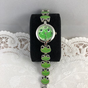 Tic Time by Accutime Watch Co. Accessories - Frogs More Frogs and a few more by Tic Time